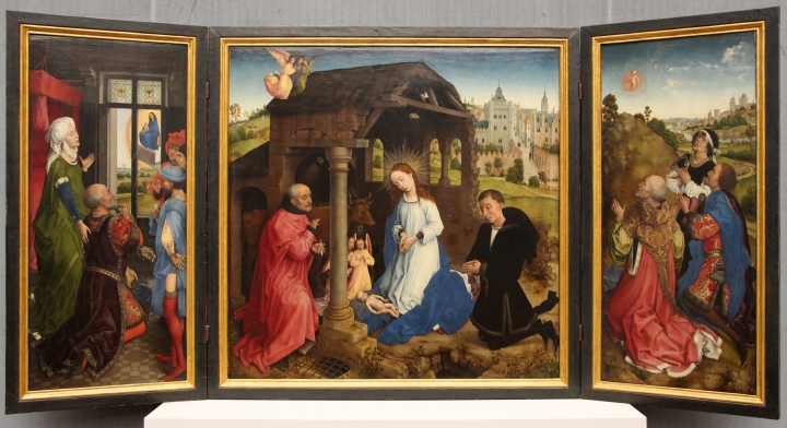1445 1450 Bladelin triptych berlin Rogier_van_der_weyden,_altare_di_middleburg_o_bladelin,_1445-50_ca._01