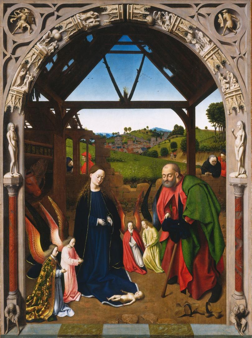 1455 q Petrus_Christus_Nativité_Haute_résolution