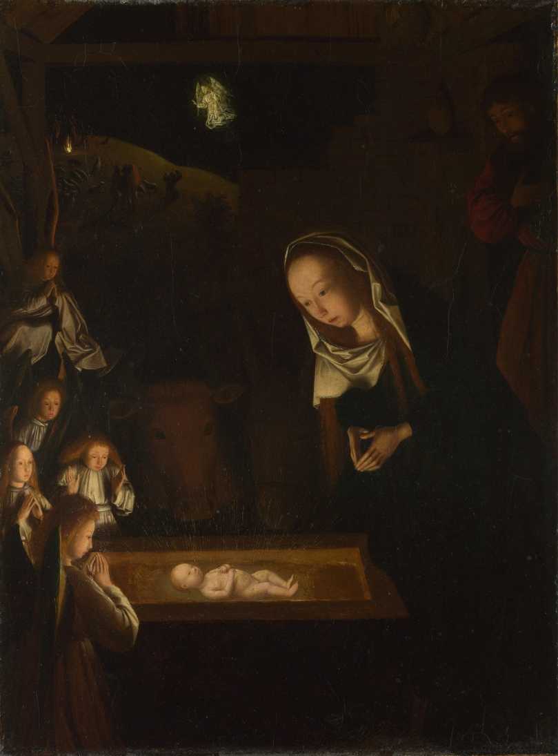 1490 Geertgen_tot_Sint_Jans,_The_Nativity_at_Night,_c_1490
