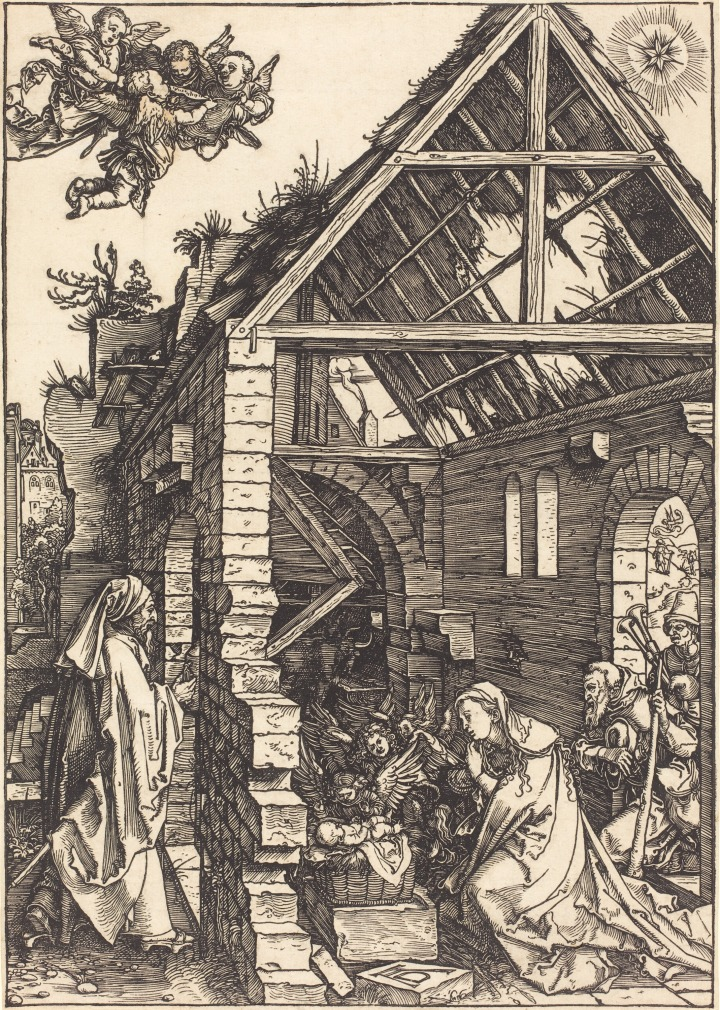 1502 1504 Albrecht_Dürer_-_The_Nativity_(NGA_1943.3.3583)