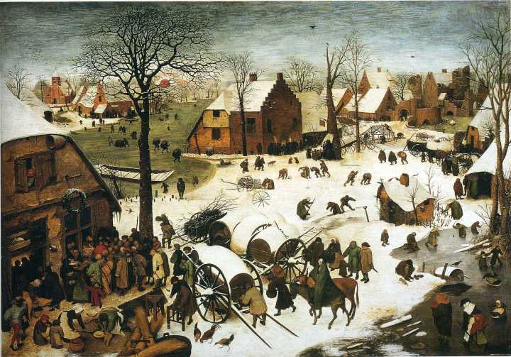 1566 bruegel census-at-bethlehem-1566