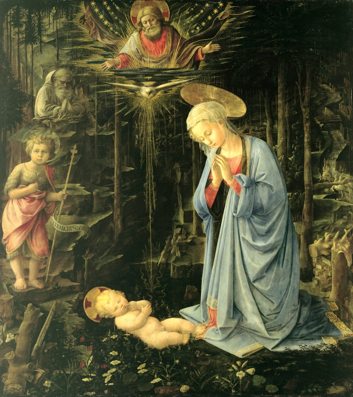 Fra_Filippo_Lippi_-_The_Adoration_in_the_Forest_-_Google_Art_Project