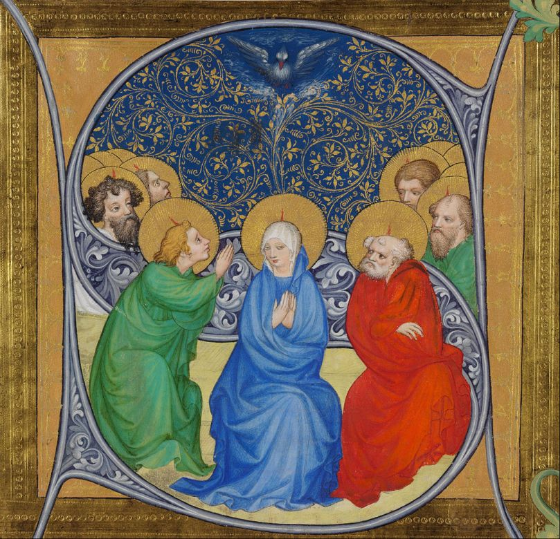 1061px-Bohemian_Master_-_The_Pentecost_-_Google_Art_Project
