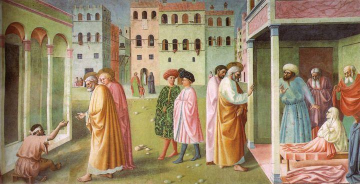 1280px-Cappella_brancacci,_Guarigione_dello_storpio_e_resurrezione_di_Tabita_(restaurato),_Masolino