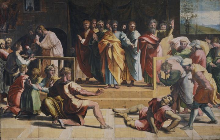 1515 -16 Raphael Cartoon