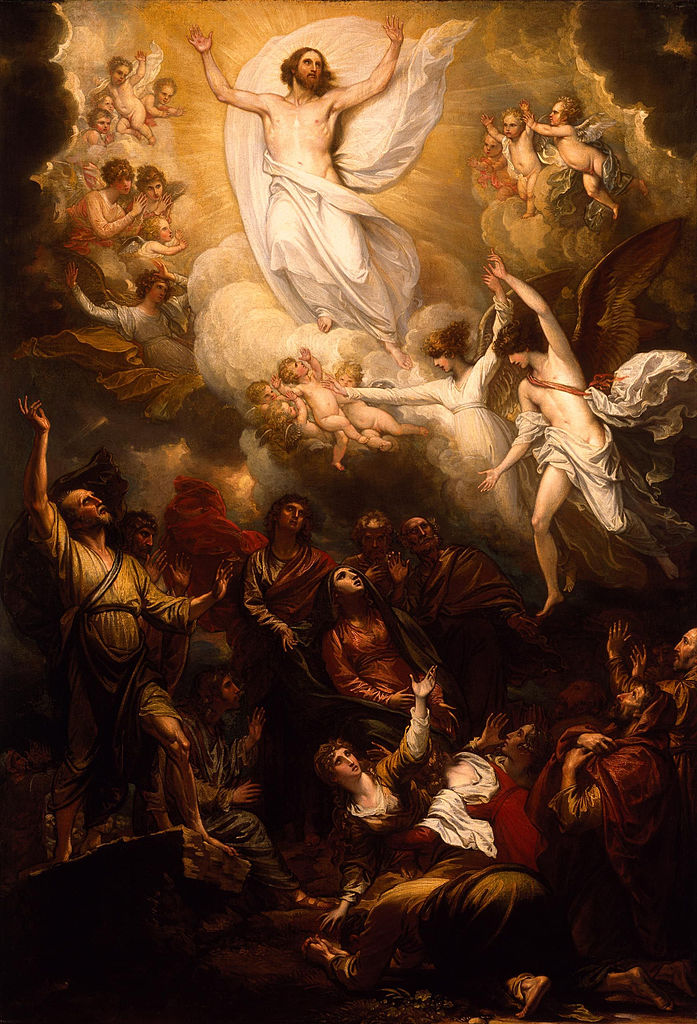 697px-The_Ascension)_by_Benjamin_West,_PRA