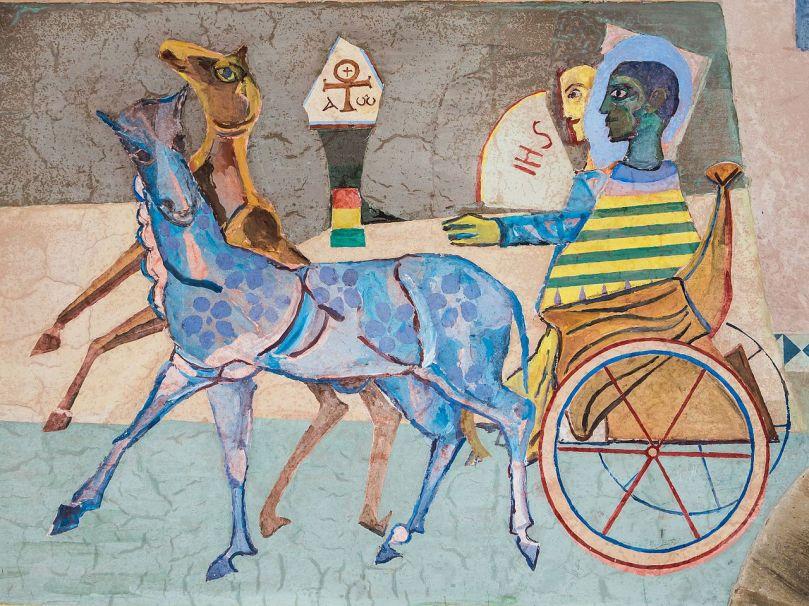 Abtei_Seckau_Engelskapelle_Bekehrung_des_Äthiopiers