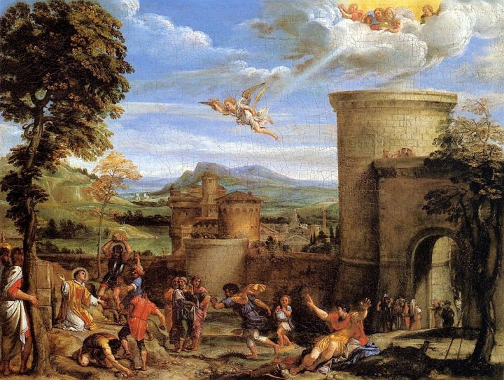 Annibale_Carracci_-_The_Martyrdom_of_St_Stephen_-_WGA4450