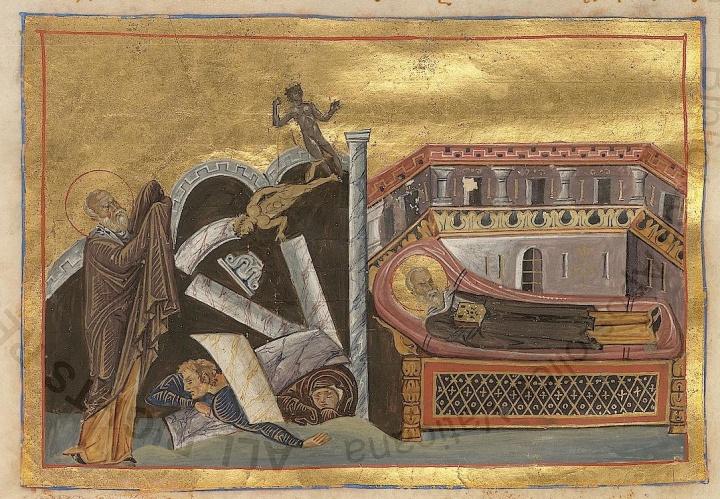 Cornelius_the_centurion_(Menologion_of_Basil_II)