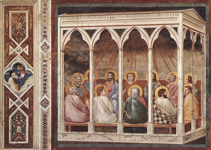 Giotto_-_Scrovegni_-_-39-_-_Pentecost