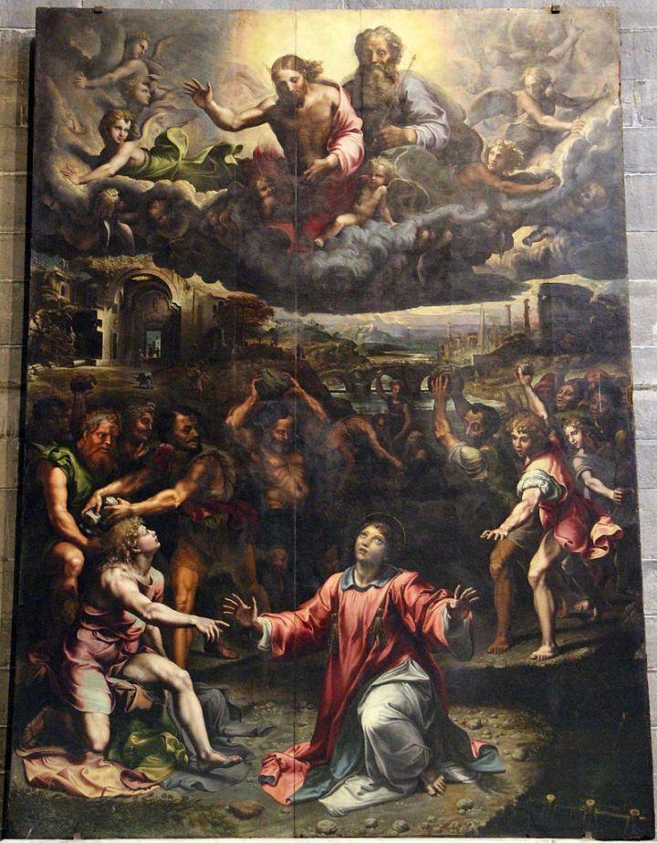 Giulio_romano,_lapidazione_di_santo_stefano,_1521,_01