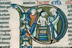 Ananias restores Saul's sight – Art and the lectionary
