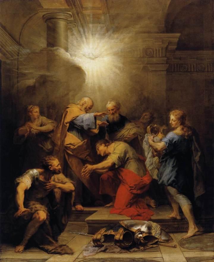 Jean_II_Restout_-_Ananias_Restoring_the_Sight_of_St_Paul_-_WGA19317