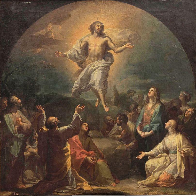 La_Ascensión_del_Señor,_de_Francisco_Bayeu_(Museo_del_Prado)