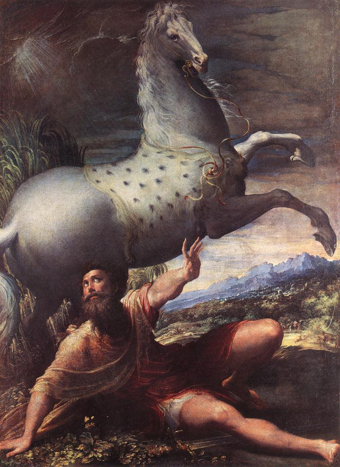Parmigianino_-_The_Conversion_of_St_Paul_-_WGA17030