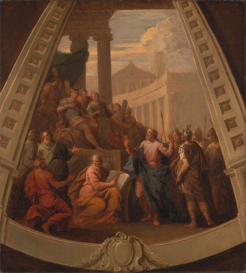 Thornhill 923px-James_Thornhill_-_St._Paul_before_Agrippa_-_Google_Art_Project