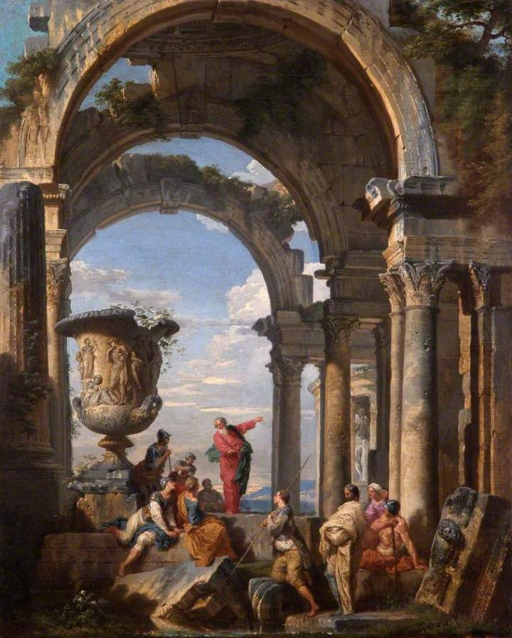 Panini, Giovanni Paolo, 1691-1765; Saint Paul Preaching at Athens
