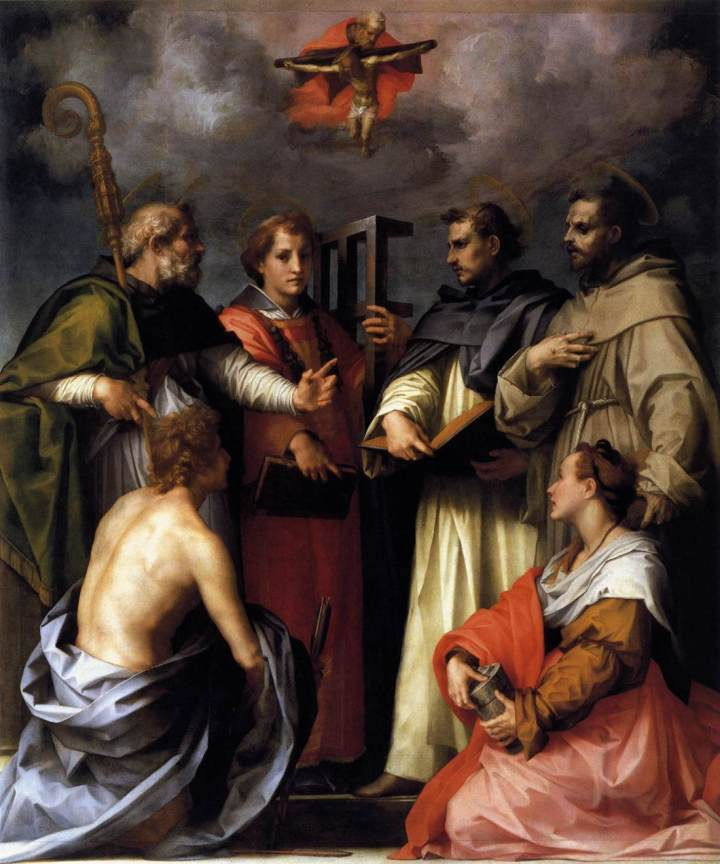 Andrea_del_Sarto_-_Disputation_on_the_Trinity_-_WGA0397