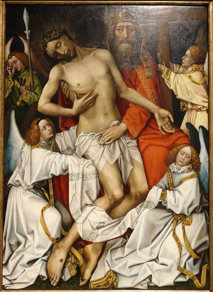 The_Holy_Trinity,_workshop_of_Rogier_van_der_Weyden,_c._1430-1440_-_Museum_M_-_Leuven,_Belgium_-_DSC05222