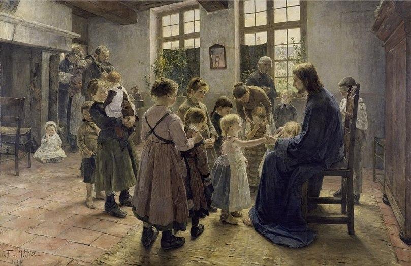 1024px-Fritz_von_Uhde_-_Lasset_die_Kinderlein_zu_mir_kommen,_1884_(Leipzig)