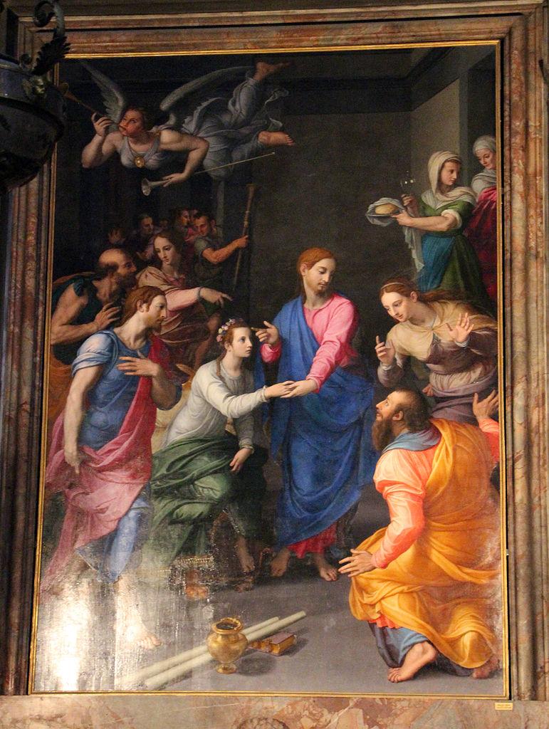 Bronzino,_resurrezione_della_figlia_di_giairo,_1570-72,_01