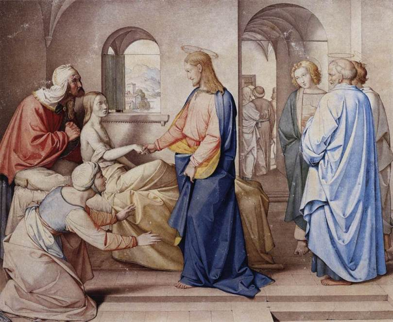 Friedrich_Overbeck_-_Christ_Resurrects_the_Daughter_of_Jairus_-_WGA16795