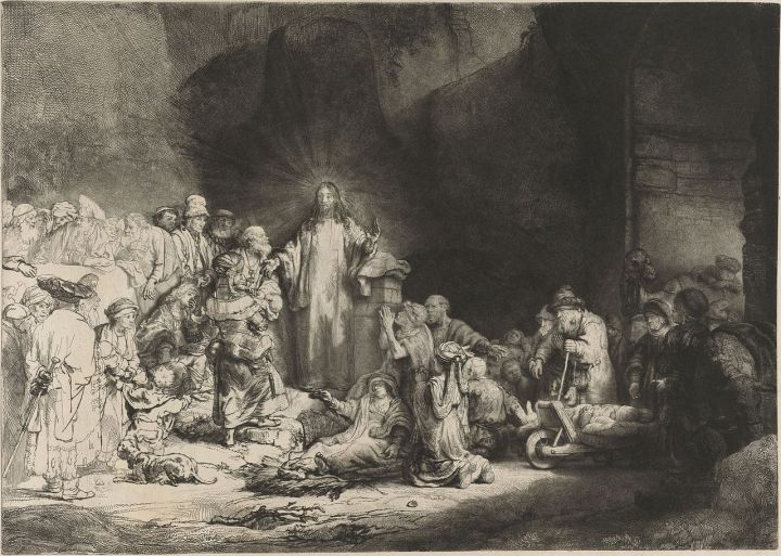 Rembrandt_-_The_Little_Children_Being_Brought_to_Jesus_(-The_100_Guilder_Print-)_-_WGA19060