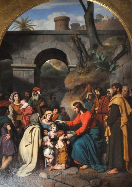 Schnetz_-_Christ_et_les_enfants
